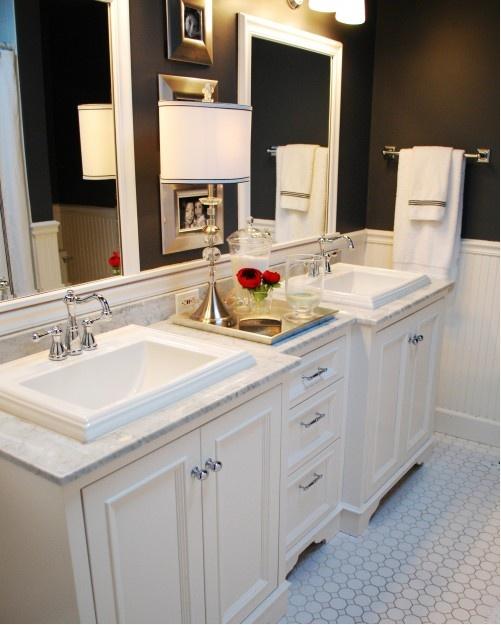 bathroom cabinet counter interior design rehabbing