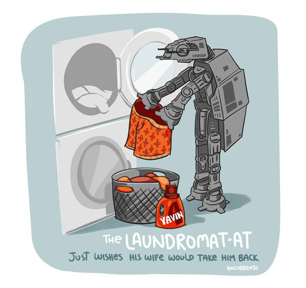 Underachieving AT-AT Laundromat AT