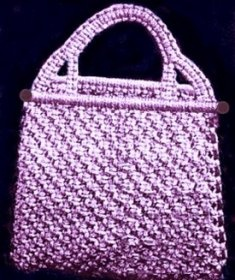 Macrame Purse Patterns Free : had forgotten about macrame. May be time to refresh my fingers in ...