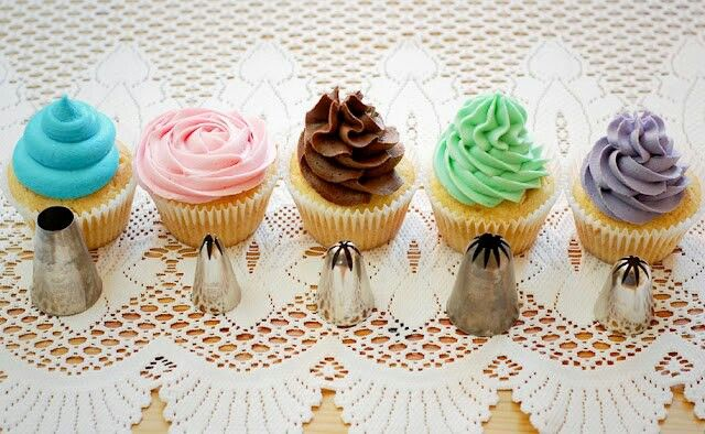 Cake Decorating With Frosting Tips : Frosting Tips Cake decorating Pinterest
