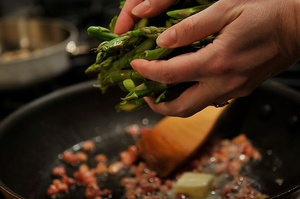 Thai-Inspired Asparagus Salad With Fried Meyer Lemon Recipes ...