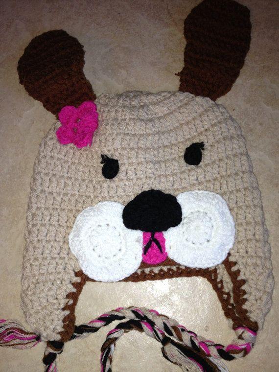 Crochet Animal Hats : Crochet animal hat