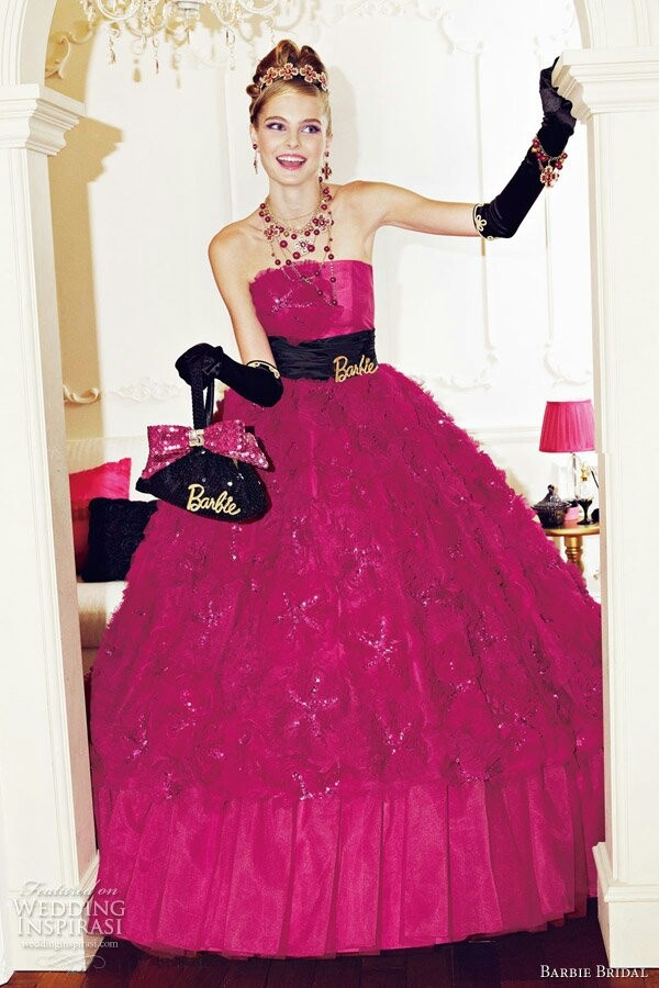Barbie bridal wedding dress barbie pinterest for How to make a barbie wedding dress