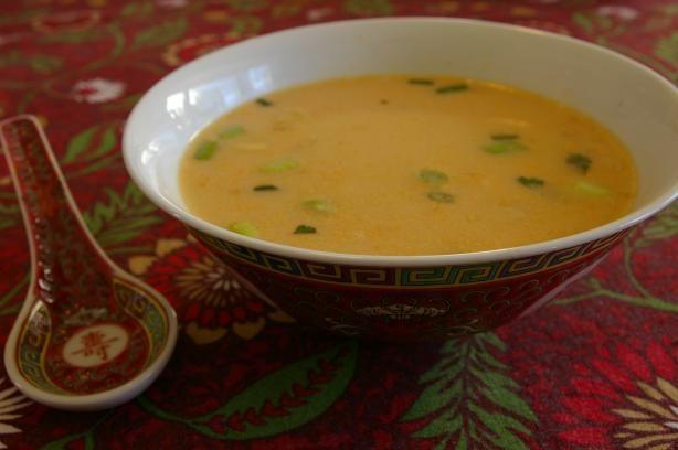 Tom Kha Udon Soup With Mushrooms Recipe — Dishmaps
