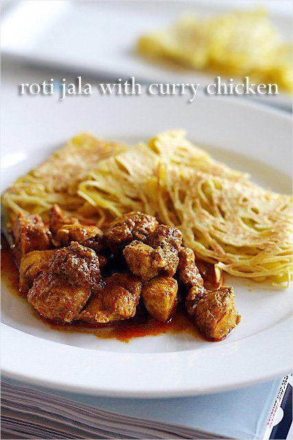 Roti Jala and Malaysian Curry Chicken Recipe