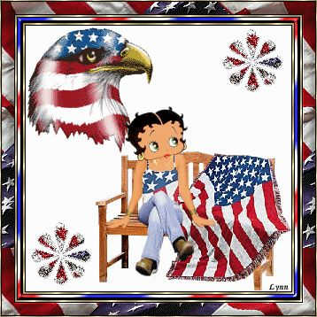 betty boop memorial day images