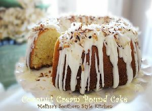 Coconut cream pound cake | *Sweets & Cakes* loved by Mint | Pinterest
