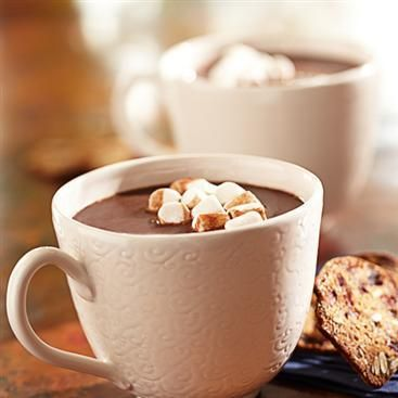 Tipsy Hazelnut Hot Chocolate Recipe — Dishmaps