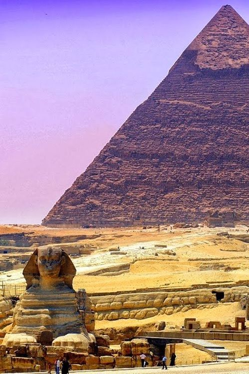 The Great Pyramid of Giza, Egypt.