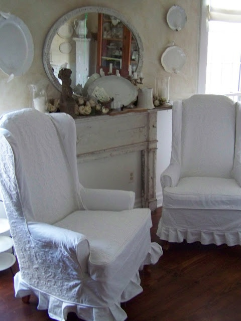 Lovely mantel and chairs (from Arbor House Lane)
