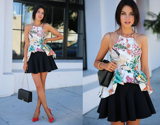 Cameo Top, Cameo Skirt, Miu Miu Pumps, Giorgio Armani Bag