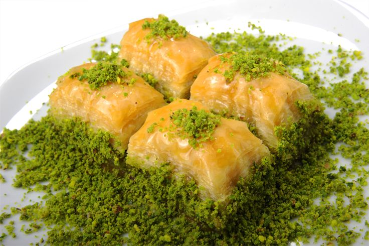 pistachio baklava | Desserts | Pinterest