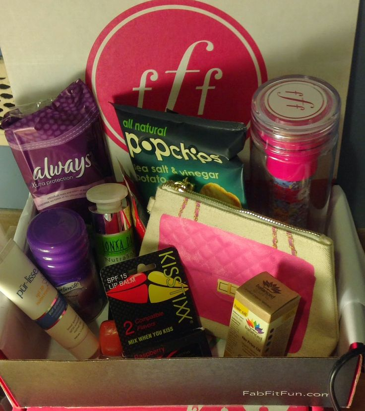 Fab Fit Fun VIP Box Review: Summer 2014  Subscription Boxes  Pinter
