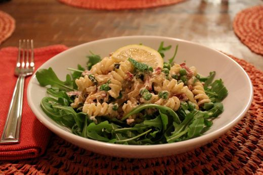 Pasta with Ricotta, Peas, and Mint | IDreamofBeingaGreatCookandBaker ...