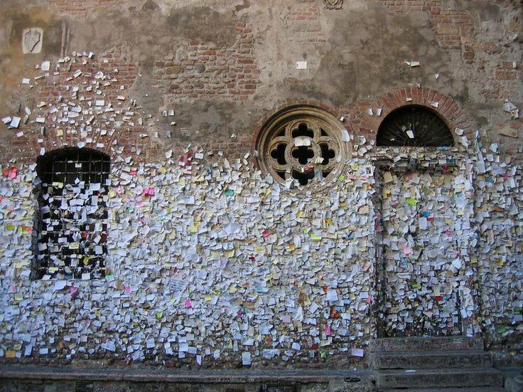 Letters To Juliet In Verona