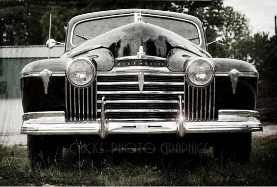 Old Car Photo Print 1941 Oldsmobile Eight by ChicksPhotoGraphics