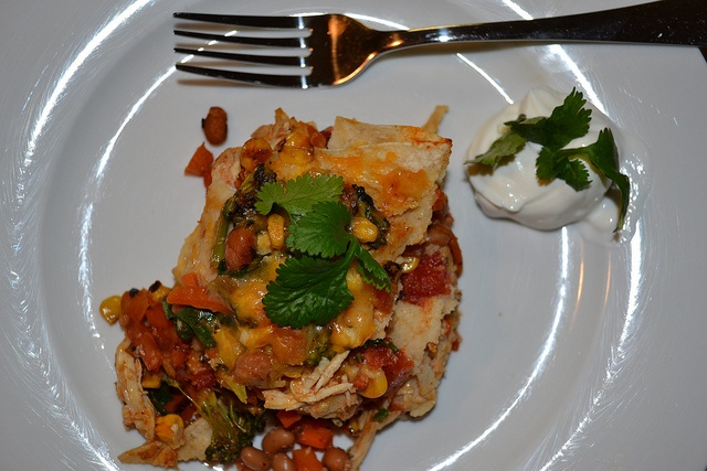 Mexican chicken and veggie lasagna! Packed with veggies and tastes ...