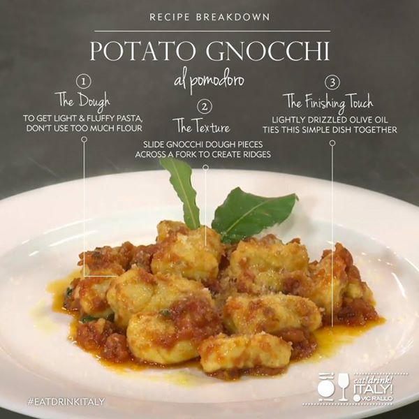 Simple Potato Gnocchi Recipe — Dishmaps