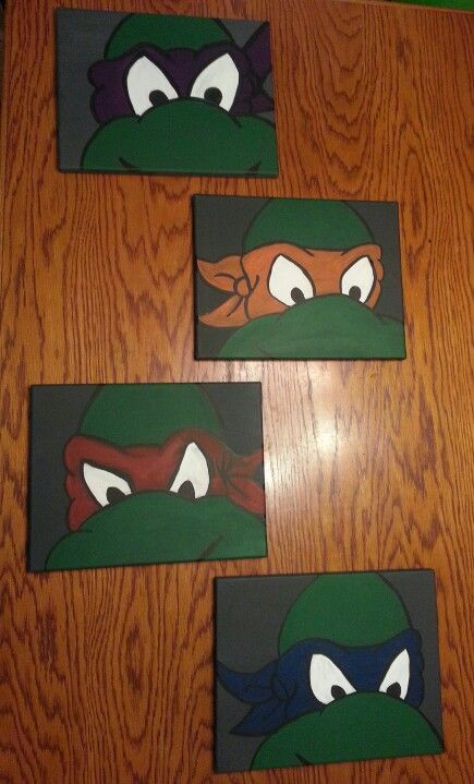 All new diy ninja turtle room decor diy room decor for Turtle decorations for home