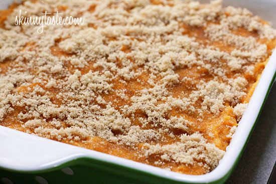 Wha, wha?? Mashed sweet potatoes brulee. I just found my side dish for ...