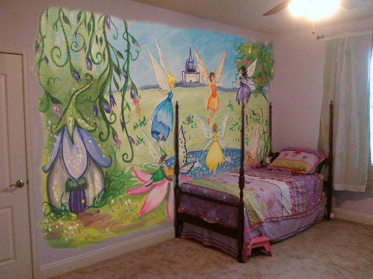 Fairys rainbow fairies mary elena ideas pinterest for Fairy mural ideas