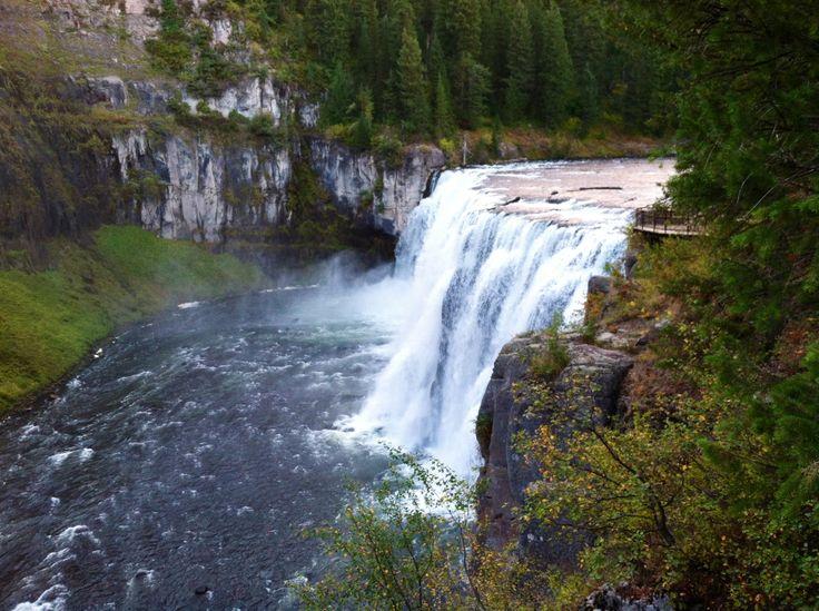 Beautiful falls in idaho sept. 2012