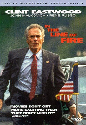 in the line of fire Directed by wolfgang petersen with clint eastwood, john malkovich, rene russo, dylan mcdermott secret service agent frank horrigan couldn't save kennedy, but he's.