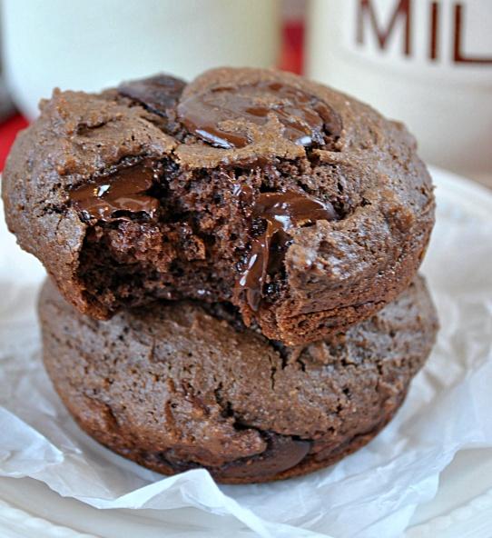 ... chocolate chunk muffins triple chocolate mousse cake triple chocolate