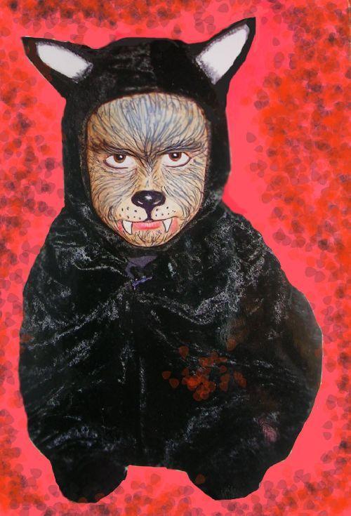 Loup combinaison maquillage kids d guisements pinterest - Maquillage loup facile ...