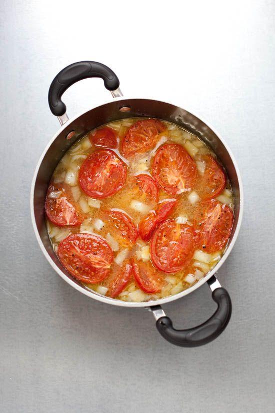 Roasted tomato and garlic soup. Mmmmm. | Recipes | Pinterest