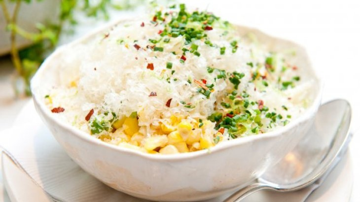 Summer Corn With Lime And Manchego Recipe