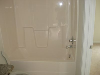 How To Change The Color Of A Fiberglass Tub Shower Enclosure
