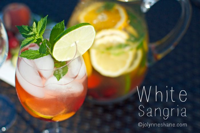 The Best White Sangria | Recipe