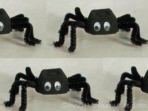 Egg box spiders