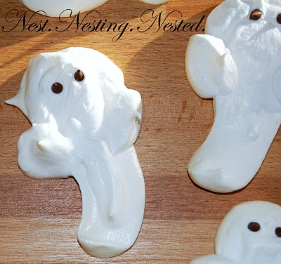 meringue ghosts | Favorite Recipes | Pinterest
