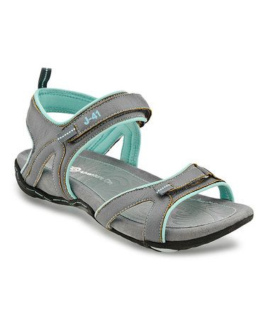 j 41 shoes  Charcoal Shasha Sandal by