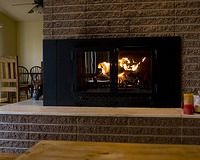 fireplace inserts wood burning blower home and