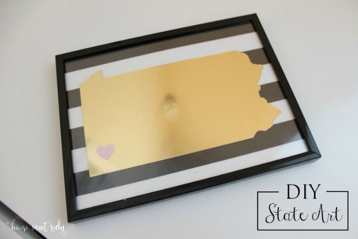 Home Sweet Ruby: DIY :: State Art