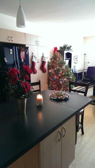 college apartment christmas decor apartment living pinterest