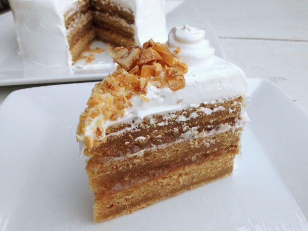 Peanut Butter-Banana Cake | Recipe