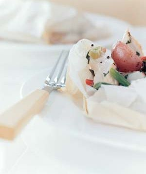 Chicken Baked in Parchment | Recipe