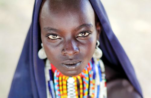 Beautiful African Woman Tribe