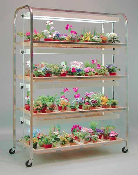 Large stands indoor gardening supplies diy projects to for Indoor gardening pdf