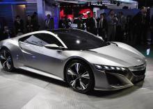 Acura  2012 on Acura Nsx Supercar Reborn As Hybrid Concept   2012 Detroit Auto Show