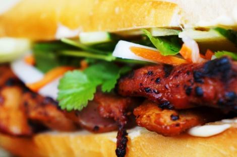 Grilled Lemongrass Pork Banh Mi | Foodie | Pinterest