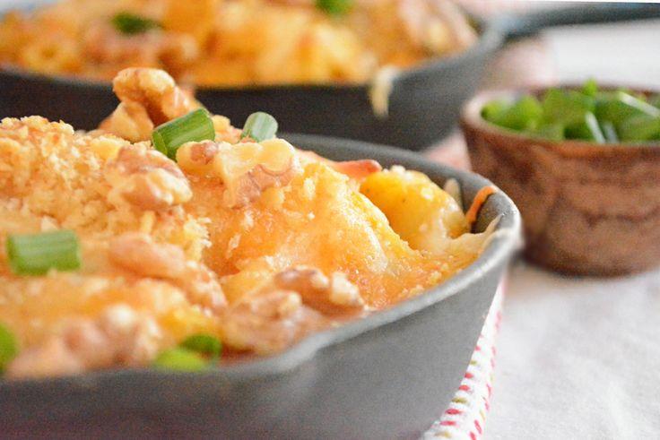 ... three cheese pumpkin macaroni and cheese recipes dishmaps pumpkin mac