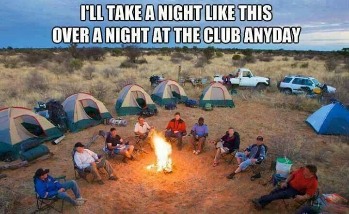 I'll Take Camping over Clubbing