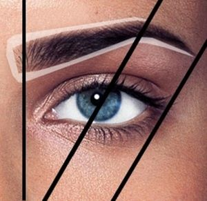 Every woman needs to learn their shape!.A guide for how and where the eyebrow's need to be arched..Use this guide for shaping your brow's, using tweezer's and for filling in correctly