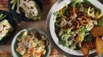 Sausage and pepper salad | Good Food! | Pinterest