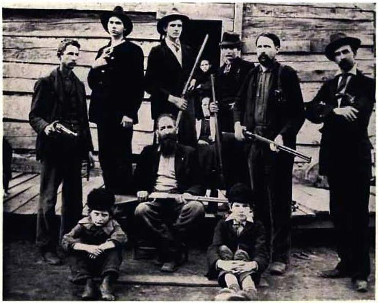 Of west virginia circa 1897 clan patriarch william anderson